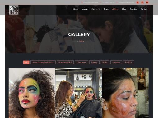 Bombay School of Makeup & Hair | No.1 Makeup Academy in Mumbai..