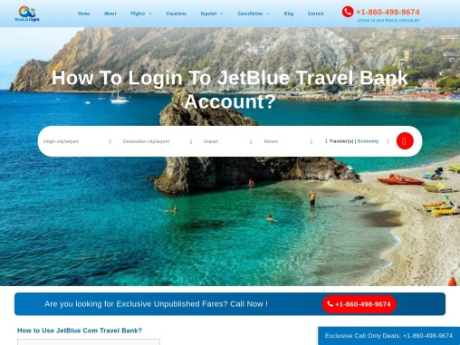 How To Login To JetBlue Travel Bank Account?