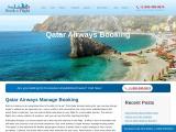 Qatar Airways Booking   +1 860 321 6827
