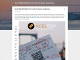 Book Flight With Bitcoin To Travel The Busan, South Korea