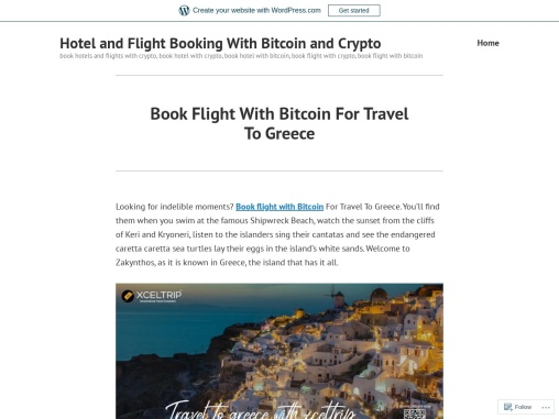 Book Flight With Bitcoin For Travel To Greece