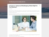 In-House Vs. Outsourced Bookkeeping: What's Right For Your Business?