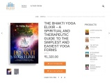 The Bhakti Yoga Elixir | best yoga book | yoga books for beginners