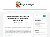 India and pakistan to lock horns for ICC World cup 2021 victory