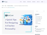 7 quick tips for designing a chatbot personality | BotCore
