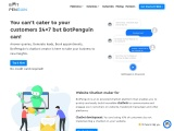 Website Chat Bot| Machine Learning| Free-BotPenguin