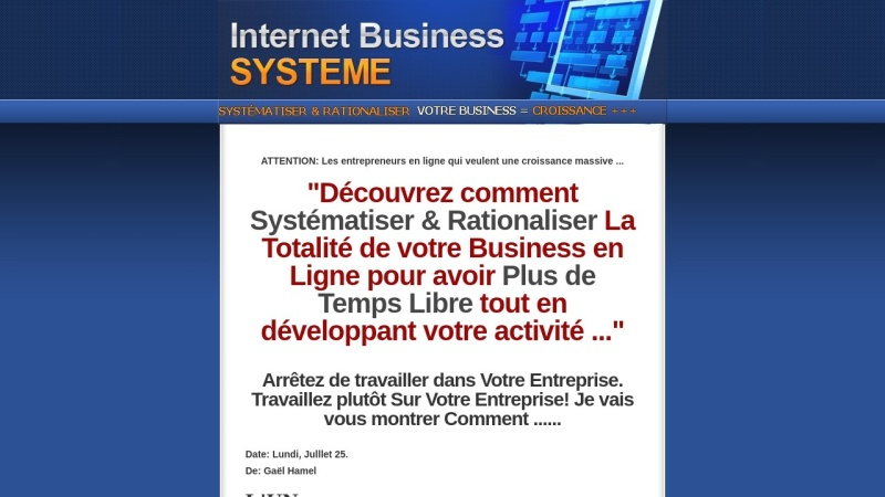 internet business systeme