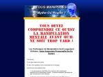 LA MANIPULATION - MYTHE OU REALITE