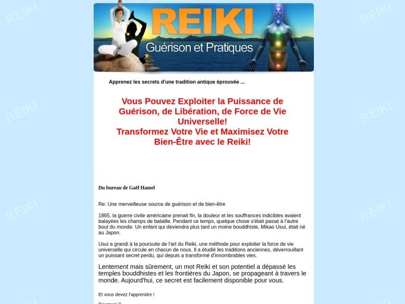 reiki - guerisons et pratiques