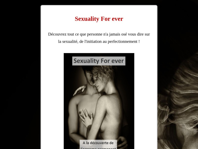 sexuality forever