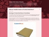 Advantages of Custom Book Boxes at iCustomBoxes