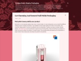 Get Charming And Secured Nail Polish Packaging
