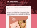 You Can Promote Your Brand With Hair Hair Box Packaging