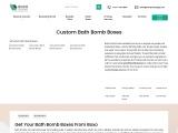 Custom CBD Bath Bomb Boxes – Custom CBD Bath Bomb Packaging