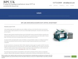 BPC (UK) announces significant capital investment