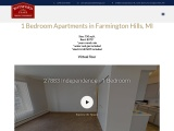 One Bedroom Apartments in Michigan