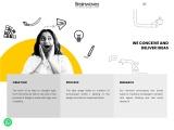 Web page design in Ahmedabad-GJ. Top Responsive website designer Brainwaves India