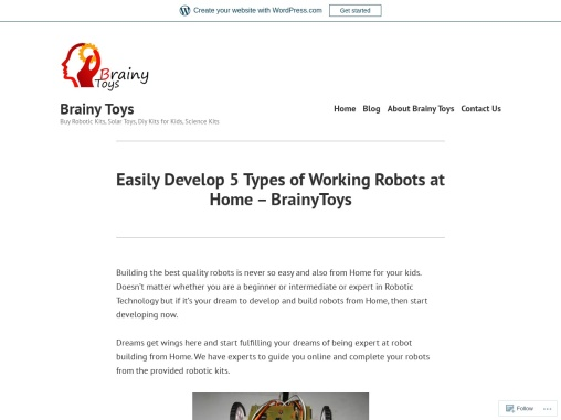 Demanding Robotic Kits for Schools Colleges – Make Working Robot at Home – Brainy Toys