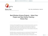 Online Training of Wireless Project – Color Detector & Accelo Robot – Accelo Color Robot – Come & Go