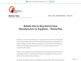 Robotic Kits to Buy Online from Manufacturers & Suppliers – Brainy Toys Educational Portal