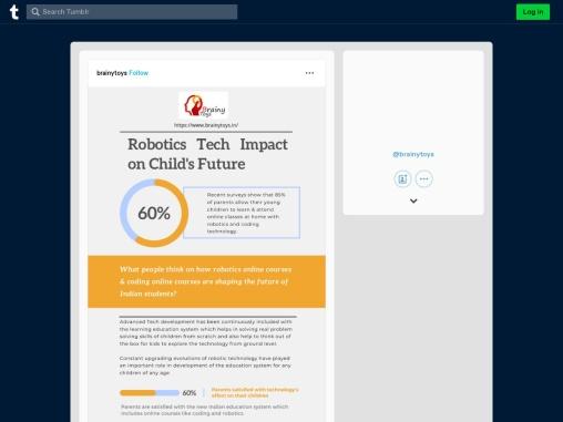 Robotics Tech Impact on Child's Future – Brainy Toys – Robotics Education