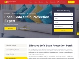 Sofa Fabric Protection Service | Sofa Stain Removal Perth | Bright Couch Cleaning Perth