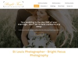Professional Wedding Photographers St Louis Services Available at Bright Focus Photography
