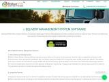 Delivery Management Software System Solution