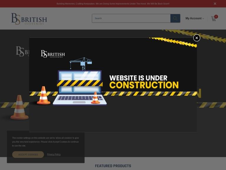 British Souvenirs screenshot