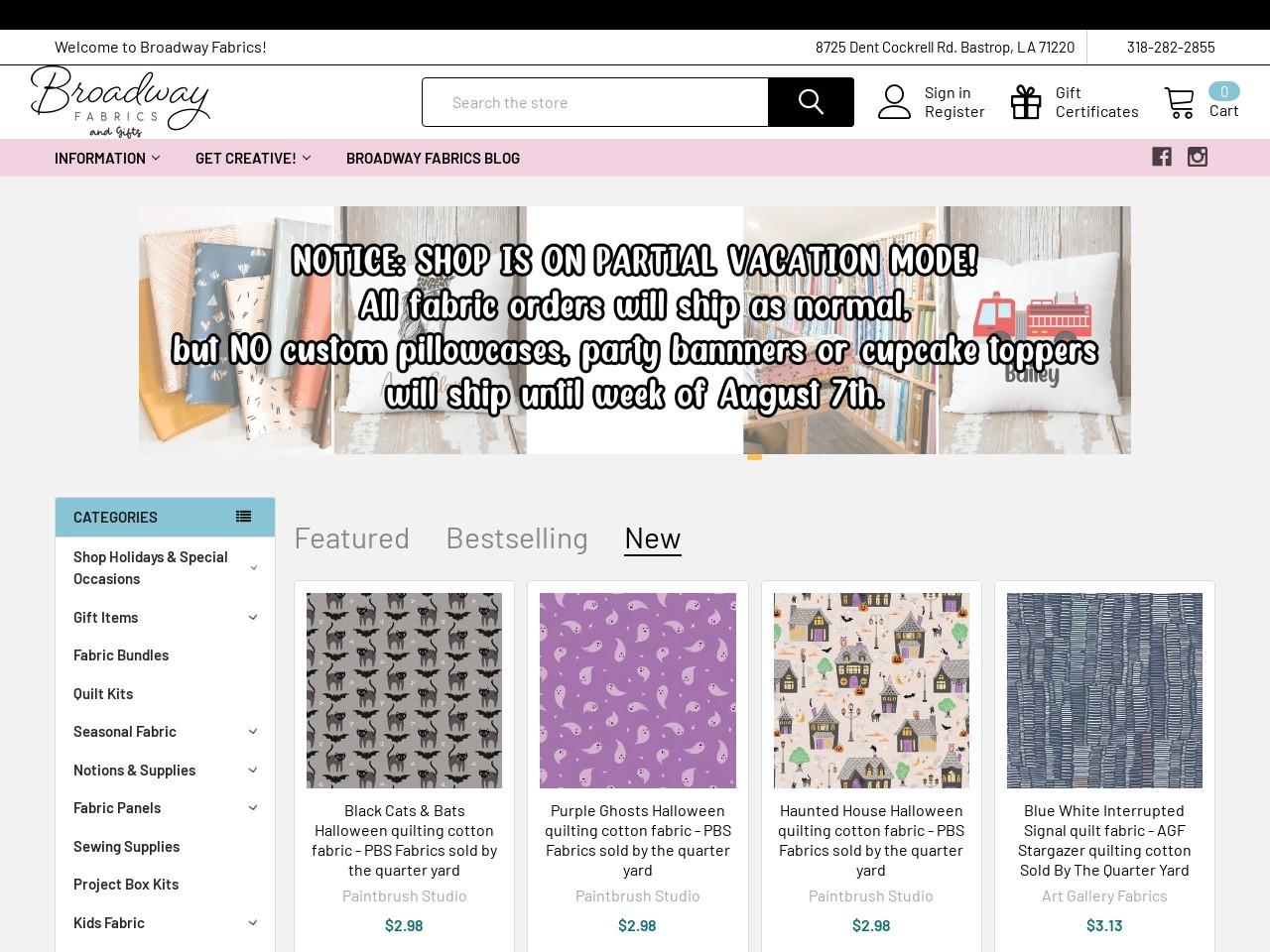 Cloud 9 Fabrics – Broadway Fabrics