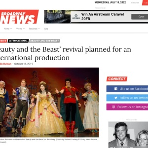 'Beauty and the Beast' revival planned for an international production | Broadway News
