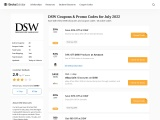 DSW Coupons & Promo Codes for May 2021