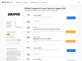 Skims Coupon And Discounts Codes