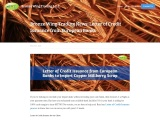 Letter of Credit Issuance – Bronze Wing Trading Success