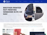 How to Resolve Brother Printer Not Printing error?