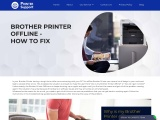 How do I get my Brother printer online with Windows 10?