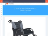 5 Types of Walking Assistance for Elderly/Disabled