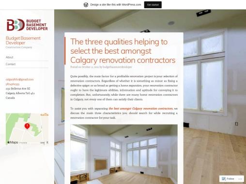 The Best Amongst Calgary Renovation Contractors
