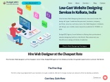 Low Cost Web Designing Serices in Kolkata-India
