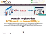 Budget domain hosting in malaysia Unlimited Pages