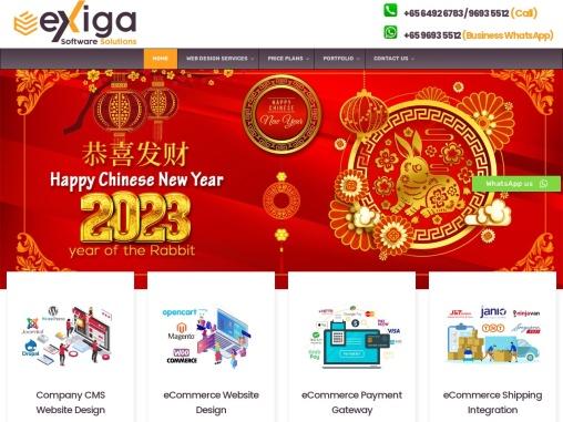Budget website design singapore
