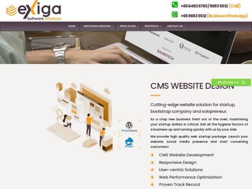website design services singapore
