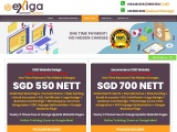 web design packages in singapore Unlimited Pages