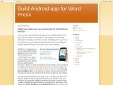 WordPress plugin for android app