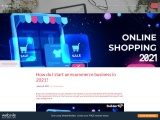 Constant Contact- How do I start an ecommerce business in 2021?