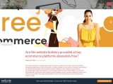 Constant Contract- Are the website builders provided at top ecommerce platforms absolutely free?
