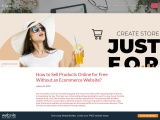 Constant Contract- How to Sell Products Online for Free Without an Ecommerce Website?