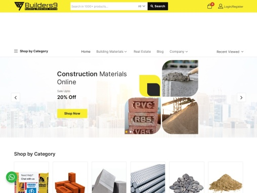 Builders9: Building And Construction Materials Supplier In Hyderabad