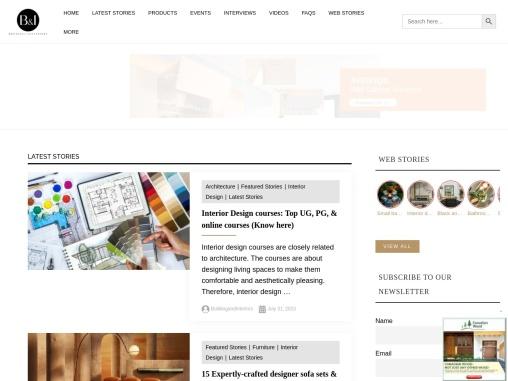 Buildingandinteriors – Architecture & Design Magazine