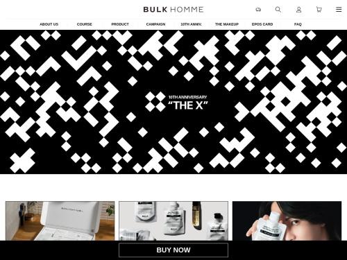 メンズコスメBULK HOMME(バルクオム) | ONLINE STORE